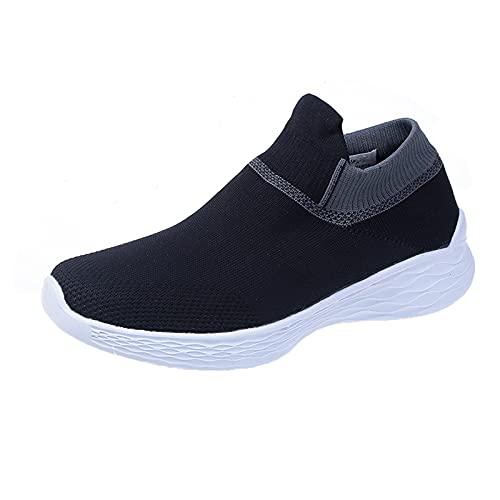 YOUQQI Damen SportschuheArbeits-Sneaker ultraleichte urnschuhe Sportschuhe Straßenlaufschuhe Gymnastikschuhe Mesh Atmungsaktiv Leicht Wanderschuhe