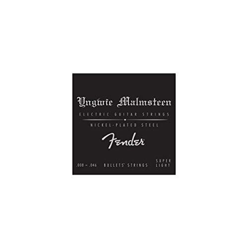 Fender 073-3250-600 Cuerdas de guitarra eléctrica Yngwie Malmsteen 8-46