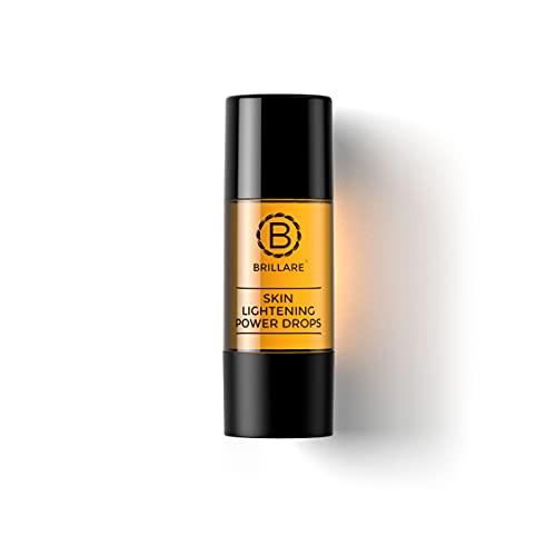 Brillare Skin Lightening Power Drops, Face Serum, Reduces Pigmentation, Deeper Nourishment, 15ml