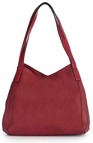 Mabel Womens Multiple Pockets Handbag - Medium Size...