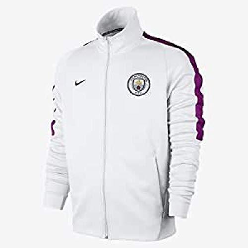 Nike Herren MCFC M NSW Fran AUT Trainingsjacke, Weiß/Richtige Beere/Mitternacht Marine Blau, 2XL