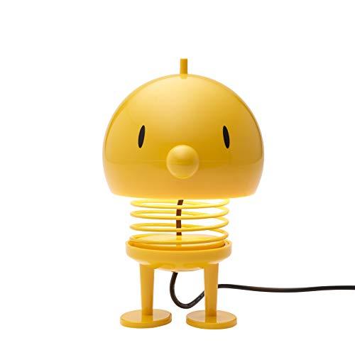 Hoptimist - Skandinavisches Design - Large Bumble Lampe - Tischlampe - Höhe: 13.5 cm - Gelb - Deko - Geschenkidee
