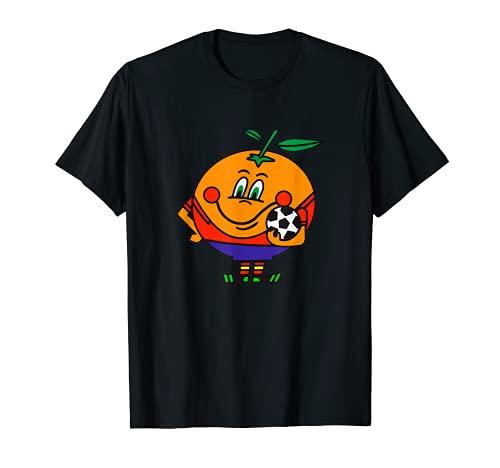 Naranjito Mundial España 82 en la época ochentera de la EGB Camiseta