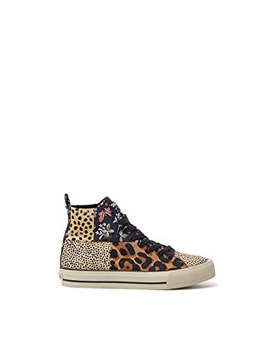 Desigual Shoes_Beta_Animal, Zapatillas Mujer