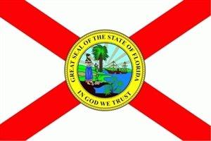 FRIP - Florida Fahne Flagge Grösse 1,50x2,50m XXL Sun Shine State