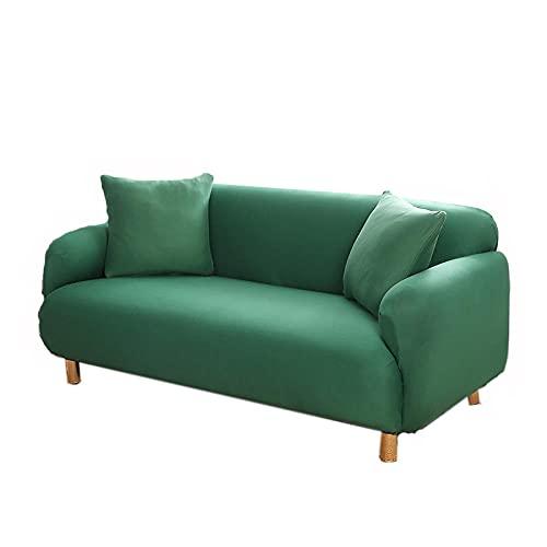 fodera per divano fodera per divano motivo floreale elasticizzato morbido elasticizzato,3-seater 75-90in_green