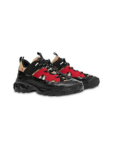 Luxury Fashion | Burberry Jongens 8023379 Zwart Katoen Sneakers | Lente-zomer 20