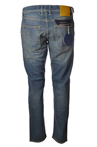 Jacob Cohen Jeans 5 Taschen, Modell J656, helle Wäsche J65601190W35301-JeansStrappatoSalpagelb-003Lav.Mittel hell, Blau 26