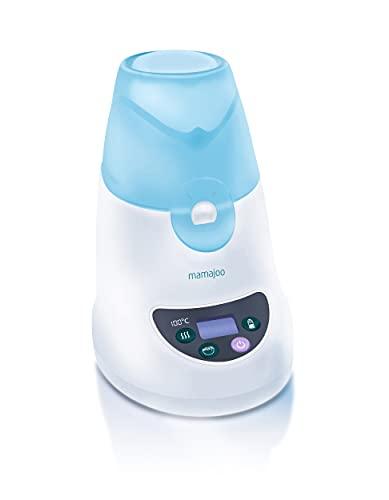 Mamajoo 3 Multifunktions, Sterilisator für Babyflaschen, Dampfsterilisator, Erstausstattung für Neugeborene, Sicher, BPA-frei,