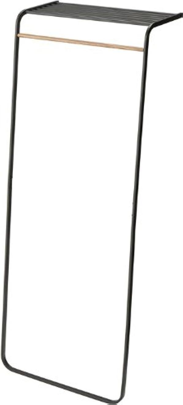 トレード減少ボタンコートハンガー タワー (ブラック(02))