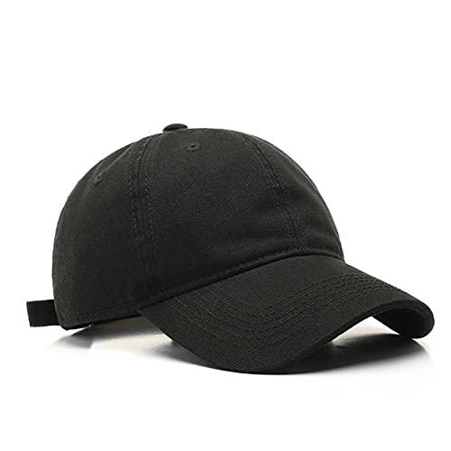 CHENGGI Gorras De Hombre Gorra de béisbol para Hombres y Mujeres Sombrero de algodón de Color sólido de Moda Sombrero de Snapback Informal Lavable