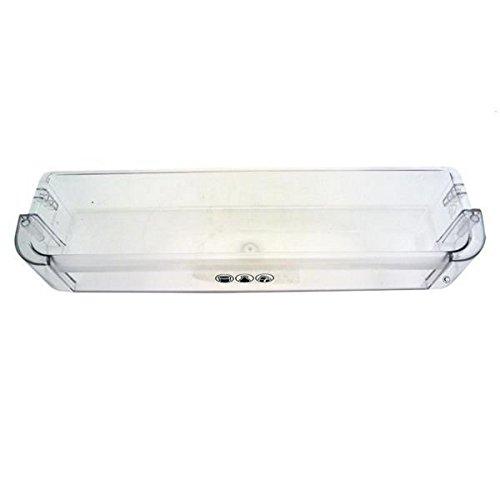 Estante para puerta de frigorífico, transparente, Whirlpool 480131100689, 44 x 10,5 x 6,6 cm
