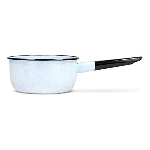 posylka.de Durchschlag Küchensieb - Komfort, emailliert, 1,5 Liter