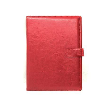 Papelería Papelería Papelería A4 Multifuncional Férula de papel en una habitación de clip individual This Contract This Business Sales (Color: Rojo) ✅