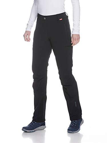 Tatonka Damen Bowles W's RECCO Pants Hose, Black, 46
