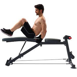 Adjustable Weight Bench Utility Workout Bench for Home Gym,Foldable Incline Decline Benches for Full Body Workout