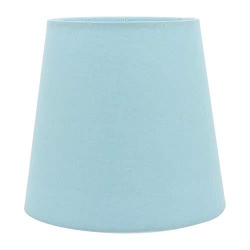 OSALADI - Pantalla de tela moderna para lámpara de techo, accesorio para la casa, dormitorio, salón, oficina, decoración (azul hielo)