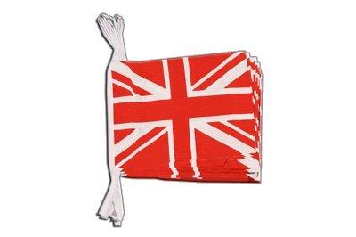 Digni Guirlande 15 drapeaux Royaume-Uni Union Jack rouge - 5,9 sticker gratuit