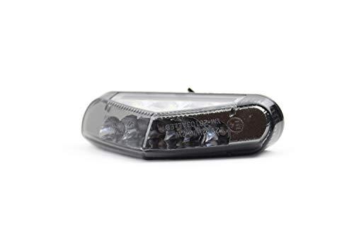 LED Rücklicht mit Kennzeichen Beleuchtung, E Zeichen, für Motorrad und Moped