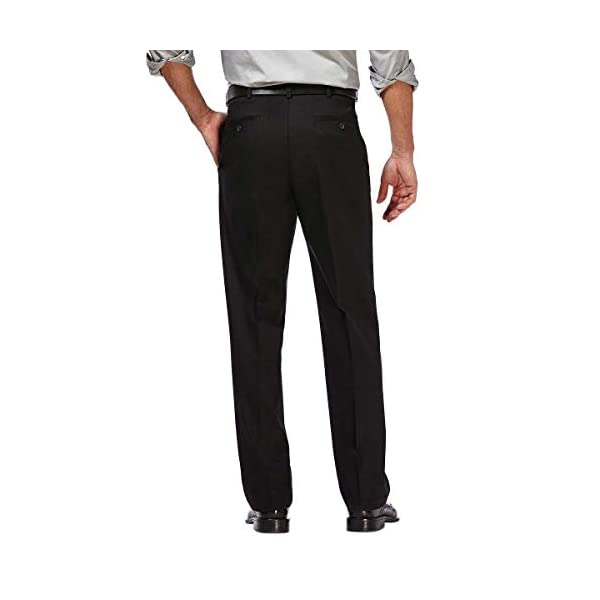 Haggar Men's Non-Iron Twill Pant