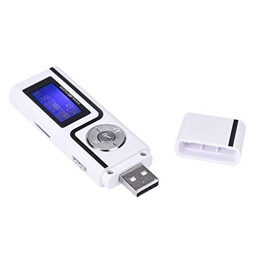 DIDIOI USB MP3 Muziek Speler, Draagbaar Digitaal LCD-scherm Digitale Media MP3 Modules Micro SD TF Card Drive Telefoon Muziek Speler