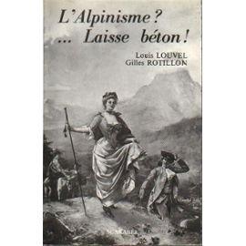 L'Alpinisme ? Laisse béton ! : Projet public de rapport d'orientation