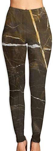 QIAOJIE Pantalones de Yoga Women Girls High/Mid-Waist Yoga Leggings Tummy Control Workout Jogger Leggings