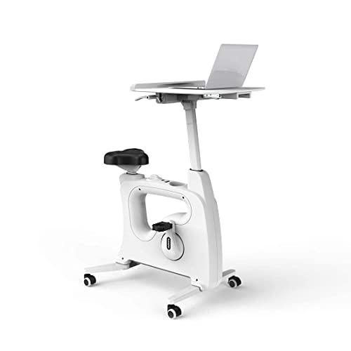 FLEXISPOT V9 Höhenverstellbares Tischfahrrad Schreibtisch, Heimtrainer Bewegungstrainer Pedaltrainer Fitness-Fahrrad Heimfahrrad Trainingsrad Trainingsgerät Fitnessgerät