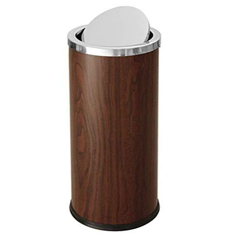 HJYSQX Cubo de Basura Cubo de Basura Cubo de Basura Cubo de Basura Cubo de Basura Villa Sala de Estar Hogar Cubo de Pedal multifunción Bar Restaurante Cafetería Cubo de Basura (Color: Gold, Size: 6