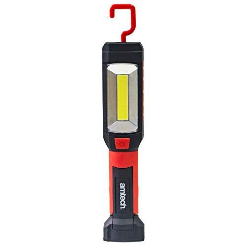 Amtech, Noir et rouge S8182 multifonction rotatif COB travail LED