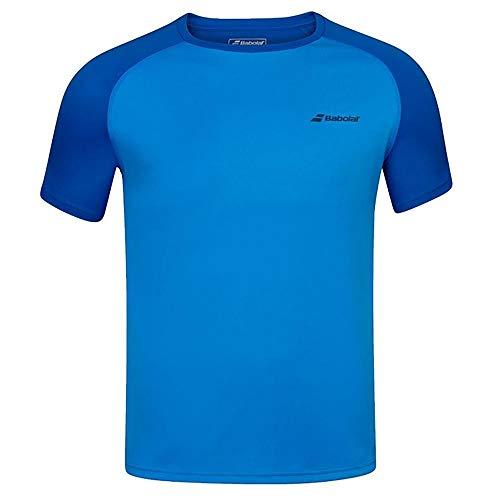 Babolat Play Crew Neck tee Boy Camiseta, Unisex niños, Blue Aster, 12-14 años