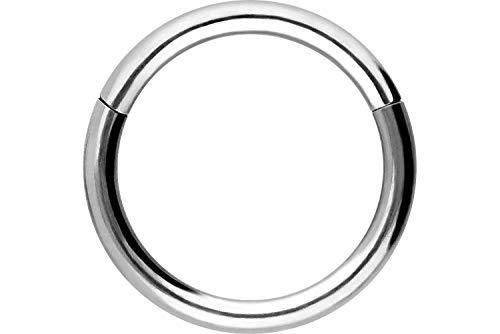 PIERCINGLINE® Segmento de Anillo en Titanio 1,2 x 8 mm