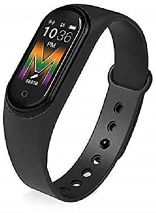 ONSENT M5 Smart Band – India's No. 1 Fitness Band, 1.1-inch AMOLED Color Display, MagneticONSENT Charging, 2 Weeks Battery Life, Personal Activity Intelligence (PAI), Women's Health Tracking....
