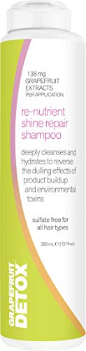Grapefruit Detox Re-Nutrient Shine Repair Shampoo | Reverse...