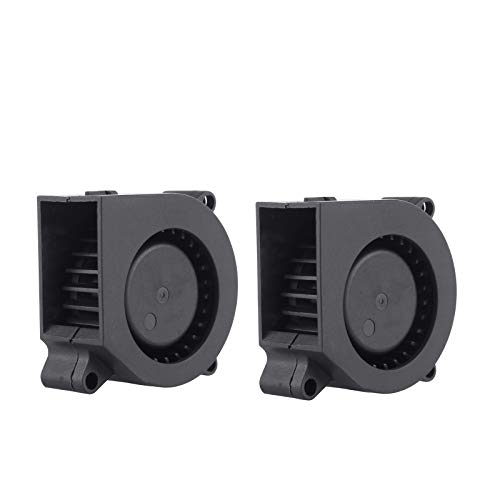 2-Pack 4020 40x40x20mm 12V DC Turbo Blower Fan for DIY 3D Printer Extruder Humidifier Cooling