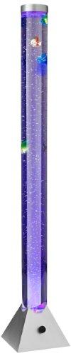Reality Leuchten R5073-47 LED-Wassersäule, EEK A, mit Farbwechsler, inkl. 5-er Set Deko-Fische, in titanfarben - 2