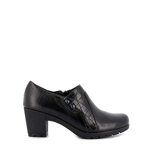 Pitillos - Zapato Abotinado Coco Negro - Negro, 35