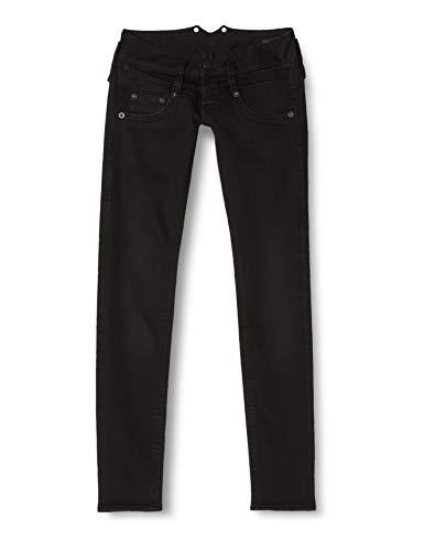 Herrlicher Damen Pitch Slim Jeans, Tempest 671, 28W / 32L
