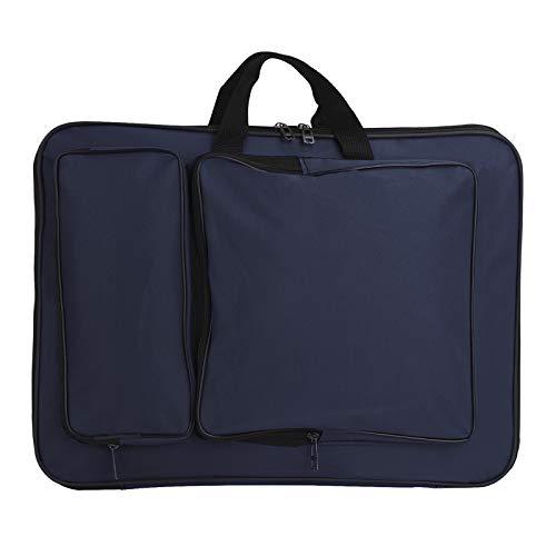 A3 Zeichentasche Kinder wasserdichte Transporttasche für Zeichenplatten Zeichnungsmappe 8K Zeichenbrett Rucksack Tragetasche Outdoor Sketch Board Bag zum Zeichnen, Skizzieren, Malen