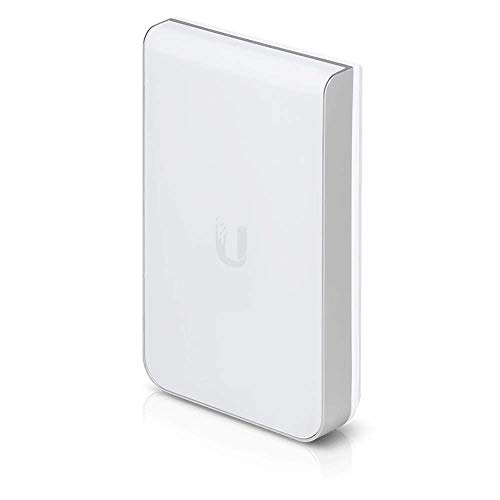 Ubiquiti Networks UniFi AC In‑Wall Pro Wi-Fi Access Point - Punto de Acceso (1300 Mbit/s, IEEE 802.3at, 10,100,1000 Mbit/s, 1300 Mbit/s, AES,TKIP,WEP,WPA-Enterprise,WPA-PSK,WPA2, Integrated Antenna)