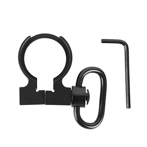 MEROURII QD Swivel Sling Adapter, Tactical Quick Detach Push Button Connecting Sling QD Mount Attachment for Hunting
