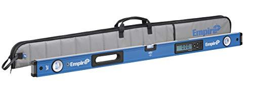 Empire Level E105.48 48 Inch True Blue Auto-Calibrated Digital Box Level with Case IP65 Rated