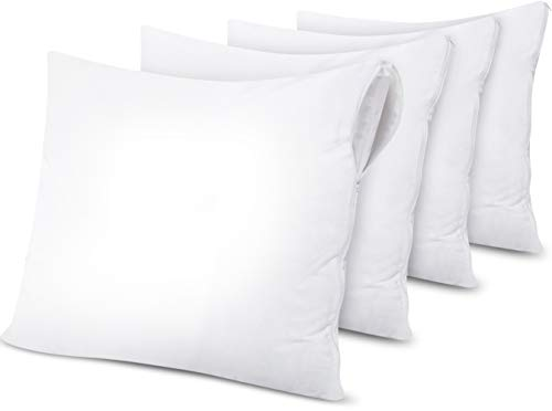 Utopia Bedding wasserdichte Kissenschoner - (Pack of 4 | 80 x 80 cm)