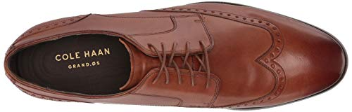 Cole Haan Men's Jay Grand Wing Ox Oxford, British Tan, 9 M US