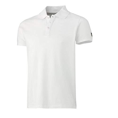 Helly Hansen 79182 Poloshirt Salford Pique, Small, Kleur: wit