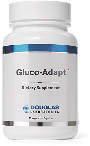 Douglas Laboratories - Gluco-Adapt (Formerly Gluco-Mend) - Blend of Herbs, Minerals and Alpha Lipoic Acid (ALA) to Provide Healthy Blood Glucose Support - 90 Capsules