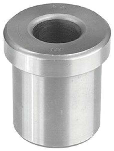 "1/4"" ID x 7/16"" OD x 3/8"" L Type H Head Press Drill Bushing; All American C1144 Steel Made in USA H28-6-1/4"