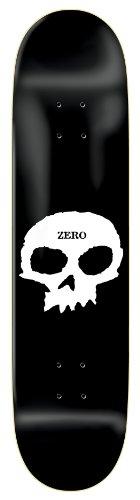 Zero Single Skull Skateboard Deck - 8.5