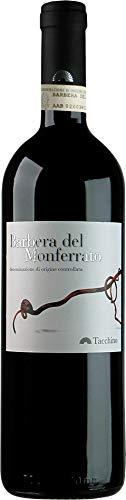 Tacchino Barbera del Monferrato Rotwein veganer Wein trocken DOC Italien (3 Flaschen)