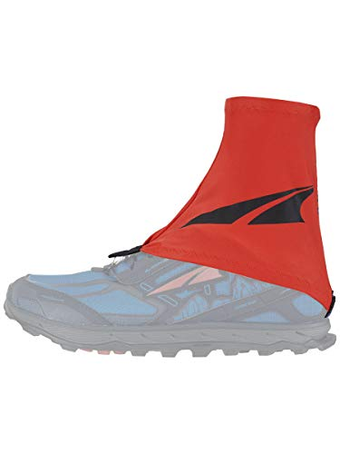 Capas protetoras para sapatos Altra Trail Gaiter, Orange/Black, Large-X-Large